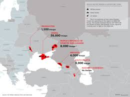 Russia Equipped Six Military Bases by This Map Shows Russia U0027s Dominant Militarization Of The Arctic