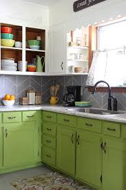 kitchen backsplash paint diy herringbone tile backsplash