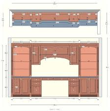 Floor Plan Of Office Building Cabinetry Floor Plan Elevations Design Layouts To Build Cabinets
