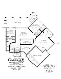 cedar creek cottage house plan covered porch plans