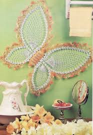 Crochet Patterns For Home Decor Decor 27 Butterfly Wall Decor Patterns Wall Crochet 1000 Images