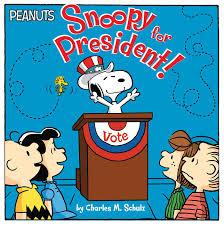 snoopy president book charles schulz maggie testa