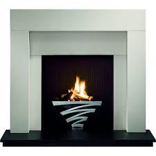 astra fire basket including coal gas fire chrome