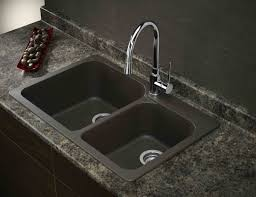 granite composite sink vs stainless steel blank sink with stainless steel faucet google search remodeling