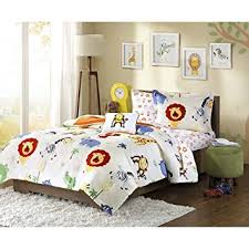 themed bed sheets 6 kids zoo comforter set jungle themed