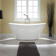 Bathroom Window Dressing Ideas by Bathroom Window Treatment Decor With White Soaker Tubs Design