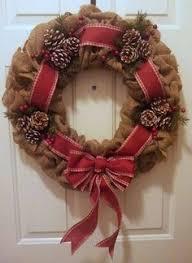 burlap christmas wreath pin by elizabeth dembeski on wreaths wreaths