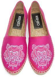 kenzo pink canvas tiger espadrilles kenzo eye meaning
