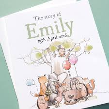 Personalised Keepsake Story Book For Children By My Personalised Woodland New Baby Book The Keepsake Gift