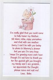 baby shower poems seed poems for babyshower baby shower favor pink baby in a pot