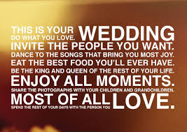 wedding quotes pics design minded wedding quote for brides grooms