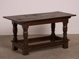 Sofa Table Oak by English Antique Jacobean Style Oak Refectory Table Or Sofa Table