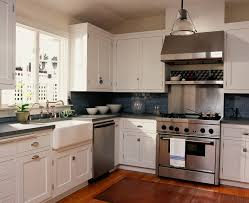 Wood Backsplash Kitchen Cobalt Blue Backsplash Kitchen Traditional With Blue Subway Tiles
