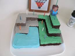 minecraft cake idea father son cake bake father son cake