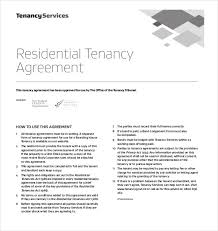 free lease agreement standard lease agreement template word