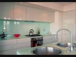 Backsplashes In Kitchens Backpainted Glass Backsplash For Kitchen New York