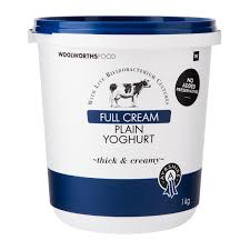woolworths home decor full cream ayrshire plain yoghurt 1kg woolworths co za