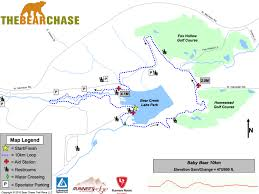 Bear Creek Trail Map The Bear Chase Trail Race U2013 100k 50 Mile 50k Half Marathon And
