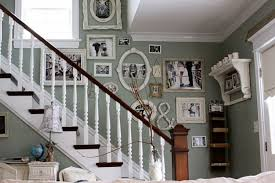 Decorate Stairway Wall Charming Ideas To Decorate Staircase Wall