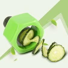 Kitchen Gadget by Cucumber Carrot Vegetable Peeler Slicer Spiral Cutter Kitchen