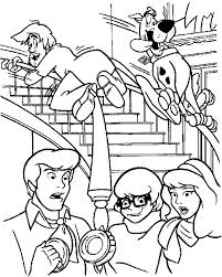10 printables scooby doo coloring pages images