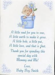 baby shower poems poem for favor boxes or thank you cards baby shower