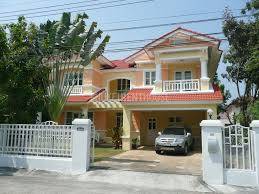 cha4602 house in phuket at land and houses park in chalong for