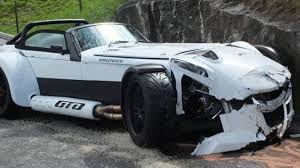 donkervoort brand new donkervoort d8 gto wrecked after just one day