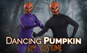 dancing pumpkin man diy halloween costume halloween costumes blog