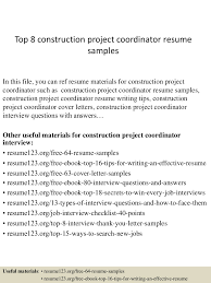 sample resume for project coordinator construction project coordinator resume sample resume for your we found 70 images in construction project coordinator resume sample gallery
