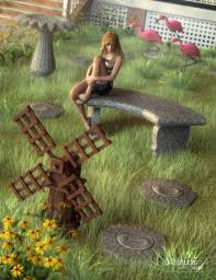 lawn ornaments 3d models and 3d software by daz 3d