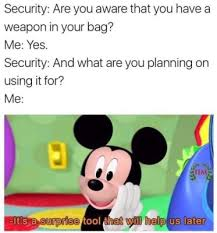 What Meme Are You - mickey mouse clubhouse meme has mickey doing very bad things