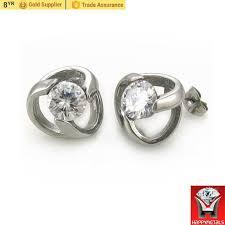 daily wear diamond earrings simple design daily wear diamond stud earrings women happy metals