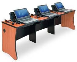 Laptop Desks Easy Collaboration For Working On Homework Business Projects