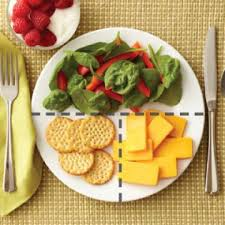 lunch for a diabetic plate method meal ideas easy meals meals and diabetic living