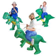 Dragon Halloween Costumes Aliexpress Buy Ride Costume 3 Size Inflatable Dinosaur Rex