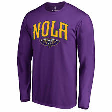 mardi gras sweatshirt men s fanatics branded purple new orleans pelicans mardi gras