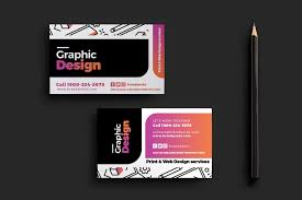 graphic design agency business card template brandpacks