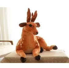 Christmas Moose Home Decor Christmas Gift Reindeer Plush Toys Creative Home Decor Buytra Com