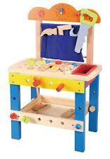 Boys Wooden Tool Bench Childrens Tool Set Ebay