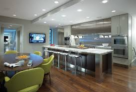 tv in kitchen ideas flat screen tv kitchen kitchen design ideas