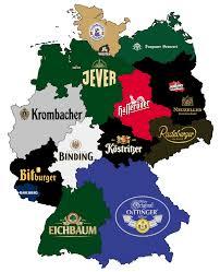 Beer Map Bierrepublik Deutschland Eine Karte Mit Dem Bekanntesten Bier In