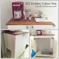 Ikea Litter Box Cabinet Diy Hidden Cat Litter Box Litter Box Ikea Hack And Cat