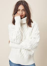 white sweater sweater white sweater lovestitch boho sweater cable knit