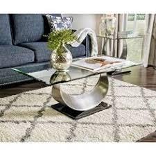 espresso beveled glass coffee table furniture of america architectural inspired dark espresso coffee