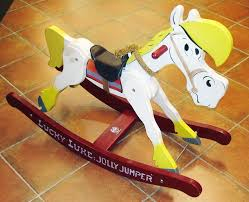 luke jolly jumper wooden rocking horse gygy