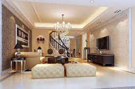Fancy Living Room Sets Modern Living Room With Fancy Furniture And Stairs D Model Max