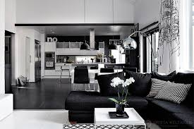 black and white home interior black and white interior design with comfortable atmosphere