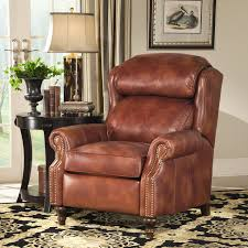 traditonal big tall motorized recliner by smith brothers wolf
