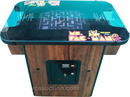 midway bally co u0027s ms pacman coin op table model 1 2 p